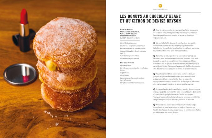 image donuts chocolat blanc citron de denise bryson mystères en cuisine twin peaks lindsey bowden huginn et muninn