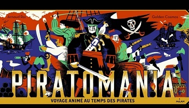 image gros plan couverture piratomania clément roi golden cosmos milan