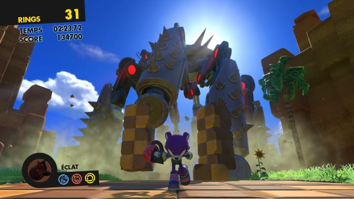 image jeu video sonic forces