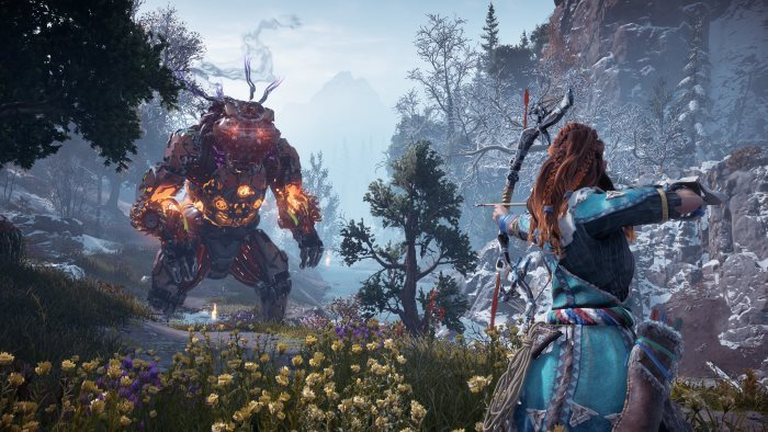 image jeu the frozen wilds