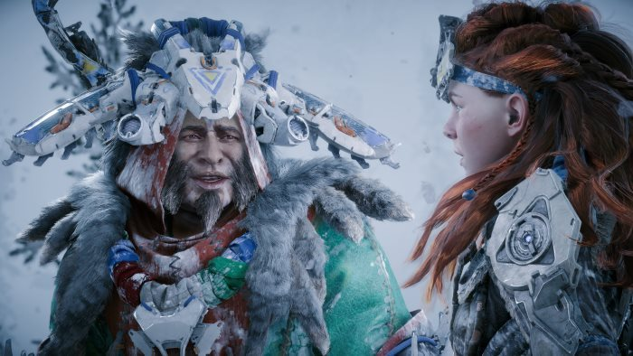 image ps4 the frozen wilds