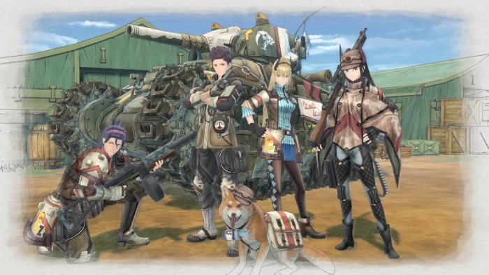 image artwork valkyria chronicles 4