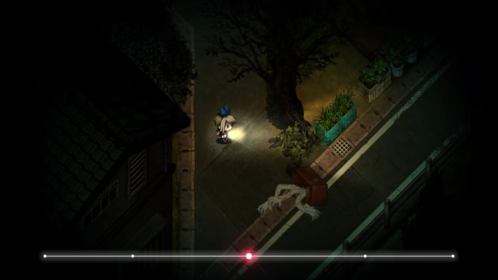 image gameplay yomawari midnight shadows