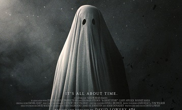 image gros plan affiche film a ghost story david lowery