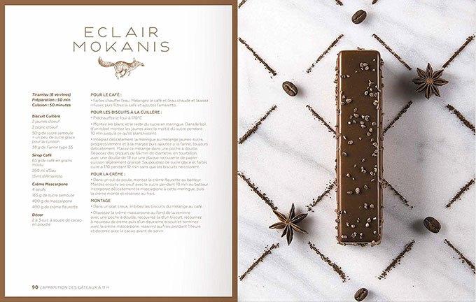 image éclair mokanis la pâtisserie de yann couvreur solar éditions