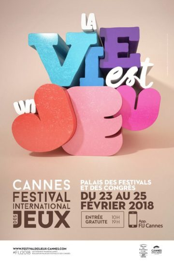 image affiche festival international des jeux cannes 2018
