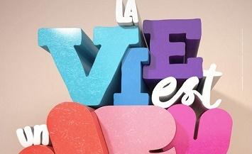 image gros plan affiche festival international des jeux cannes