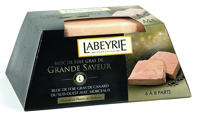 image foie gras labeyrie muscat poivre de sichuan grandes saveurs