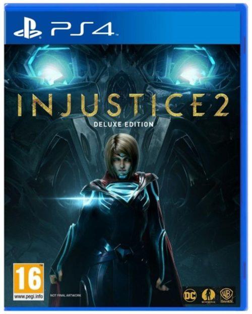 image jacquette jeu injustice 2 ps4
