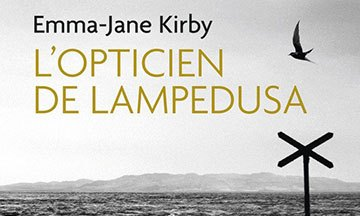 image couverture l'opticien de lampedusa emma-jane kirby éditions j'ai lu