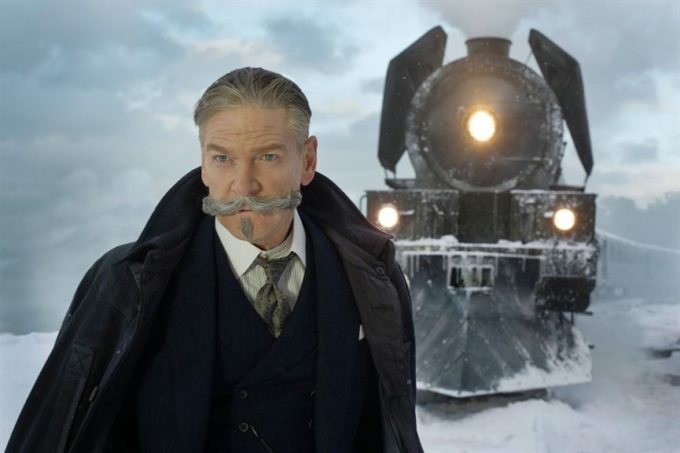 image hercule poirot kenneth branagh le crime de l'orient-express film kenneth branagh