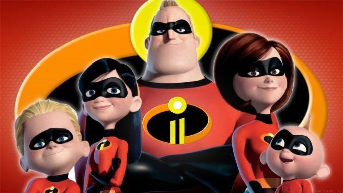 image cast les indestructibles 2 disney pixar