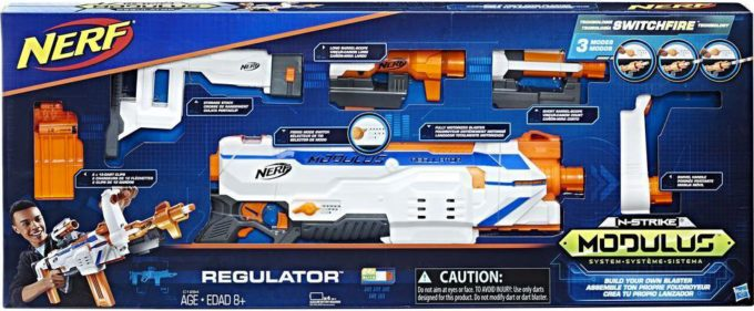 image boîte pistolet électrique nerf modulus regulator hasbro