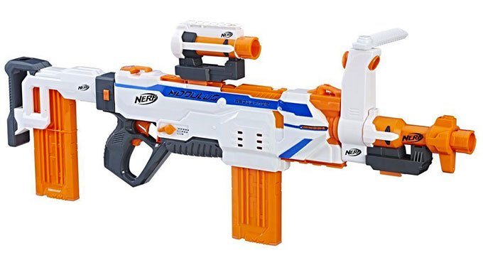 image pistolet électrique nerf modulus regulator hasbro