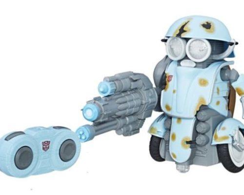 image robot télécommandé sqweeks transformers the last knight hasbro