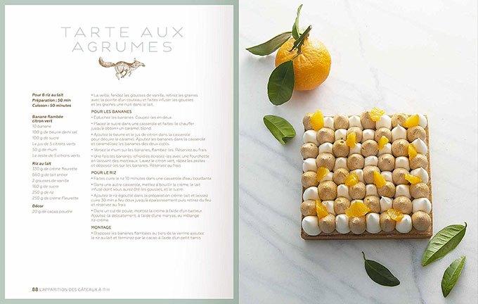image tarte au citron la pâtisserie de yann couvreur solar éditions