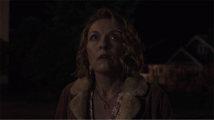 image regard terrifié carrie page laura palmer twin peaks saison 3 épisode 18