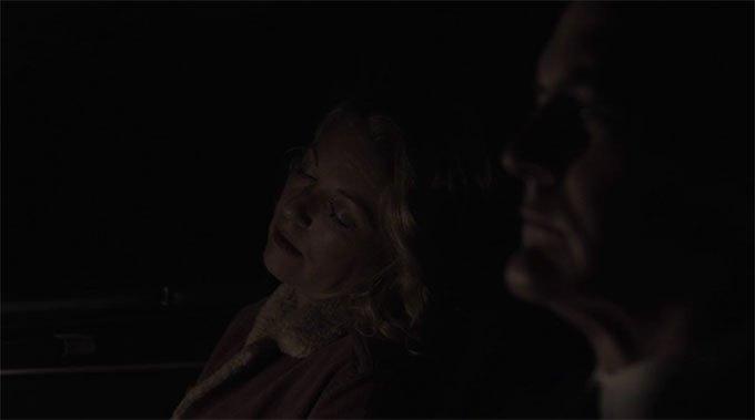 image carrie page somnolente dale cooper voiture twin peaks saison 3 épisode 18