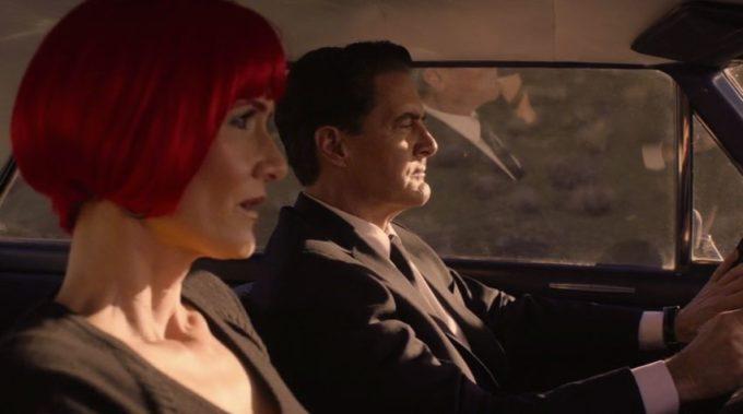 image diane dale cooper voiture 430 mile twin peaks saison 3 épisode 18
