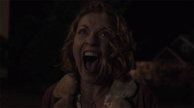 image cri laura carrie page scène finale twin peaks saison 3 épisode 18