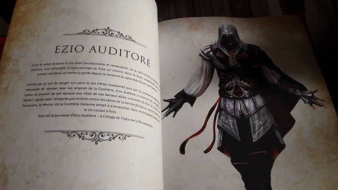 image chapitre ezio auditore assassin's creed le codex culinaire hachette heroes