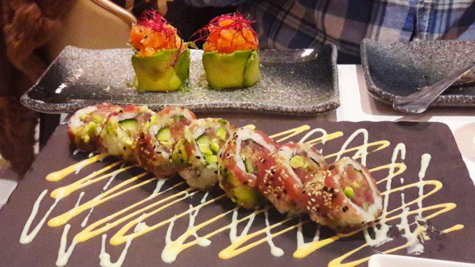image rolls signatures spécial thon rouge bluefin rose ponzu bozen paris