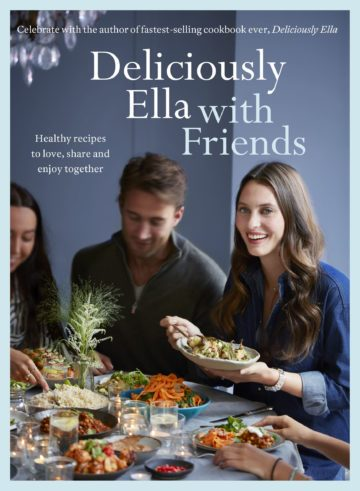 image couverture deliciously ella with friends yellow kite