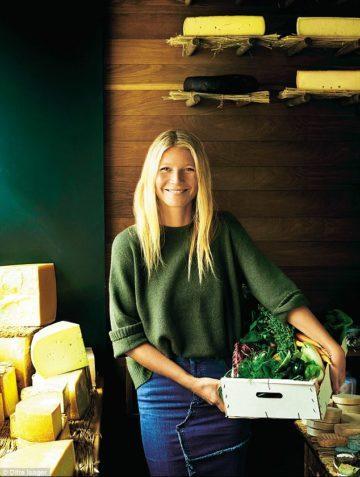 image cover shoot tout est simple gwyneth paltrow livre de cuisine ditte isager