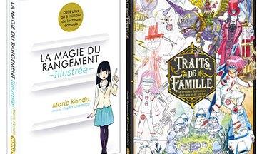 image gros plan premiers titres collection kuropop éditions kurokawa la magie du rangement de marie kando illustrée traits de famille