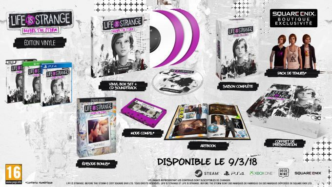 image vinyle life is strange before the storm