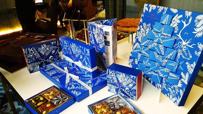 image collection noël 2017 la maison du chocolat design alex et marine