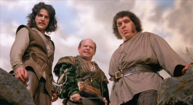 image mandy patinkin wallace shawn andré the giant princess bride film rob reiner