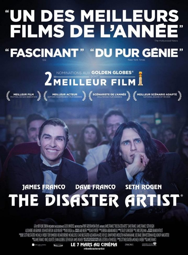 image james franco poster the disaster artist