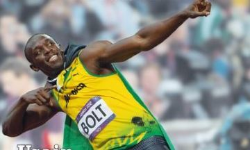 image critique usain bolt