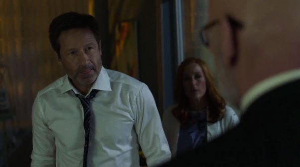 image david duchovny gillian anderson mitch pileggi x-files saison 11 épisode 1
