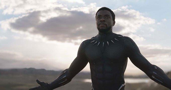 image chadwick boseman black panther marvel
