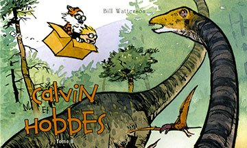 image couverture calvin et hobbes tome 8 hors collection