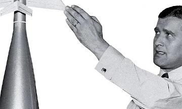 Article sur Wernher von Braun, le S.S. qui rêvait de la Lune