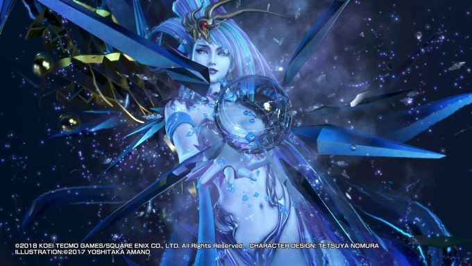 image invocation dissidia final fantasy nt