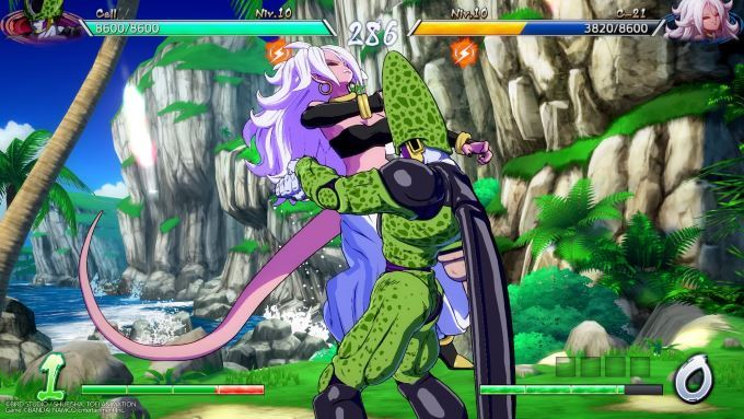 image jeu dragon fighterz