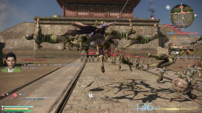 image jeu vidéo dynasty warriors 9