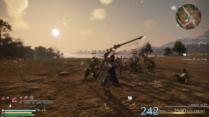 image playstation 4 dynasty warriors 9