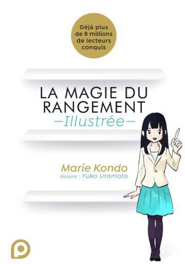 image couverture la magie du rangement illustrée marie kondo kuropop
