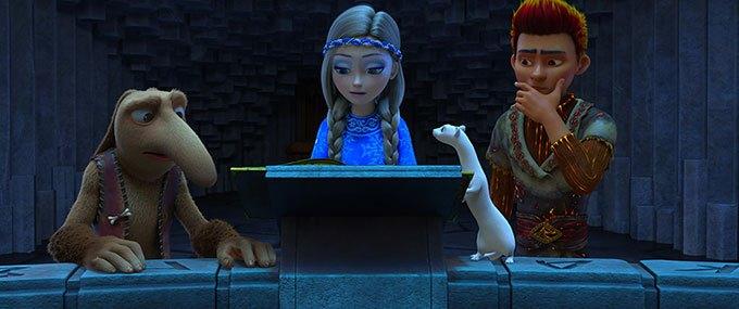 image orm gerda rolland la princesse des glaces
