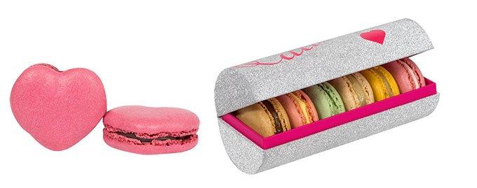 image macarons saint-valentin ladurée coeur thé joséphine coffret bijou shiny love
