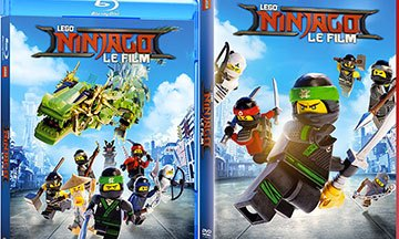 image gros plan lego ninjago dvd blu-ray warner