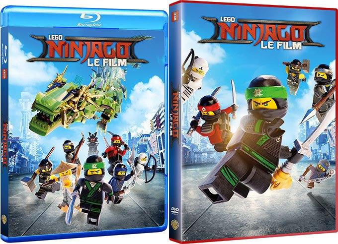 image blu-ray dvd lego ninjago warner