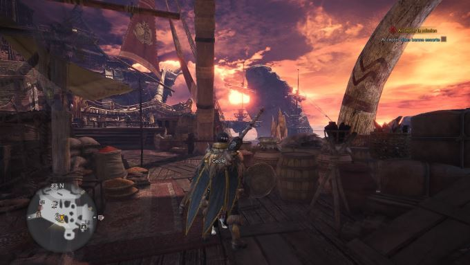 image jeu monster hunter world