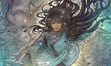 image gros plan couverture monstress tome 2 éditions delcourt