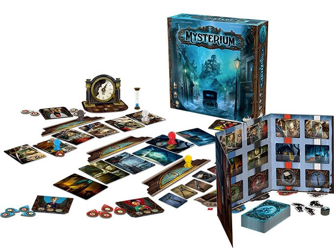 image contenu boîte jeu mysterium asmodee